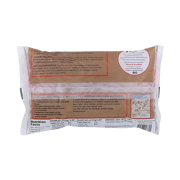 Organic Fettuccine Shirataki Noodles 6