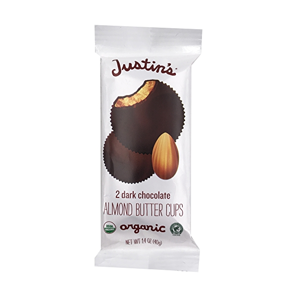 Organic Dark Chocolate Almond Butter Cup, 1.4 oz 1