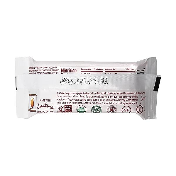 Organic Dark Chocolate Almond Butter Cup, 1.4 oz 3