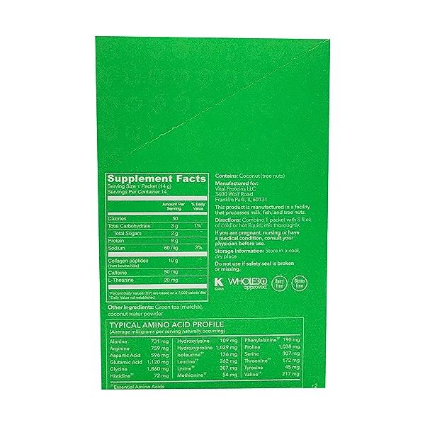 Matcha Collagen 14 Count, 6.9 oz 2
