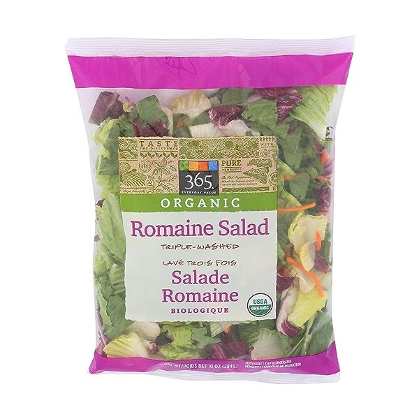 Organic Romaine Salad 1