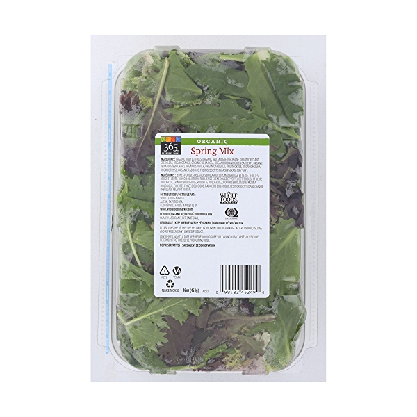 Organic Spring Salad Mix 2
