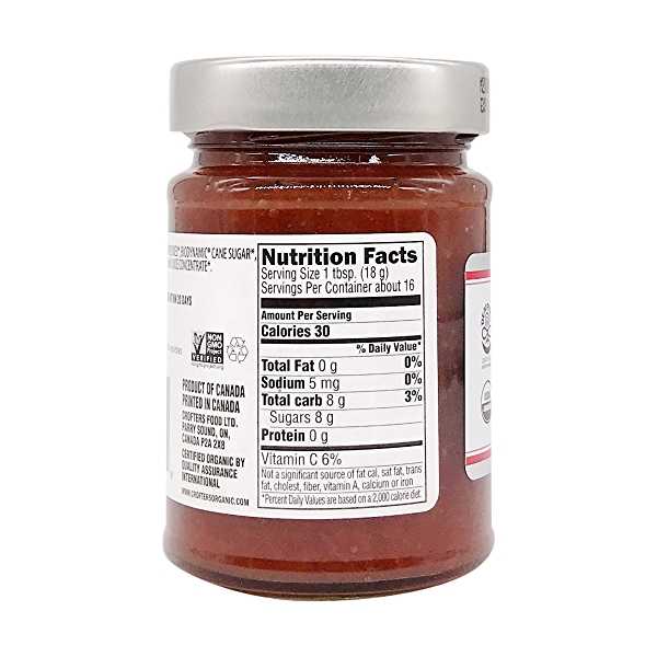 Biodynamic Strawberry Premium Spread, 10 oz 1