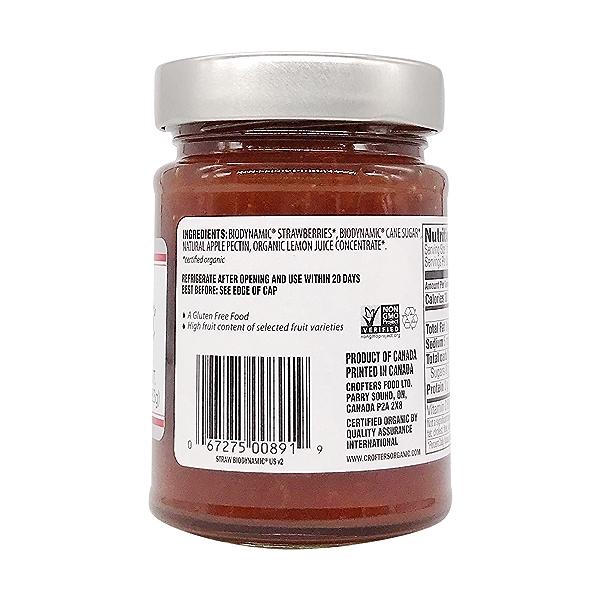 Biodynamic Strawberry Premium Spread, 10 oz 4