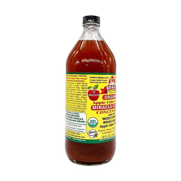 Organic Apple Cider Concentrate Vinegar, 32 fl oz 4