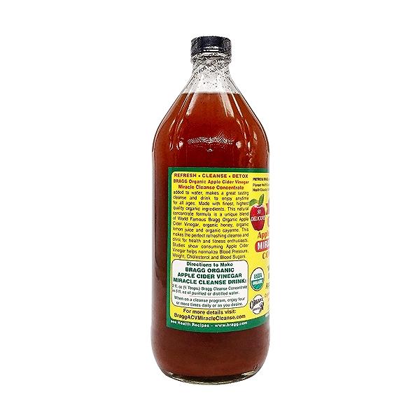 Organic Apple Cider Concentrate Vinegar, 32 fl oz 3
