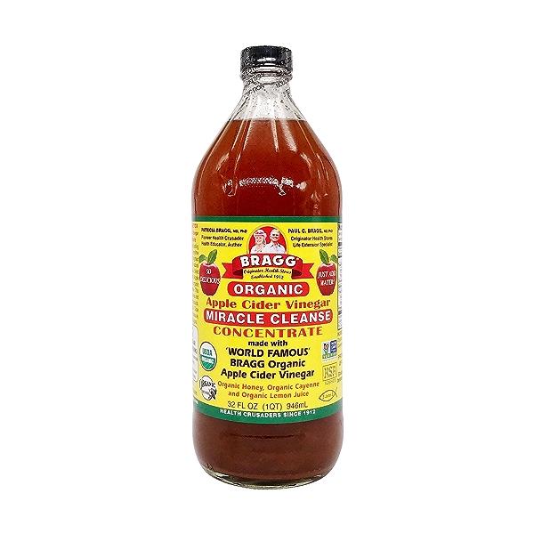 Organic Apple Cider Concentrate Vinegar, 32 fl oz 1