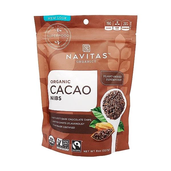 Organic Cacao Nibs, 8 oz 1