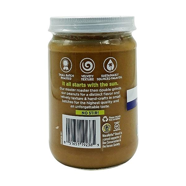Organic Unsalted Unsweetened Peanut Butter, 16 oz 3