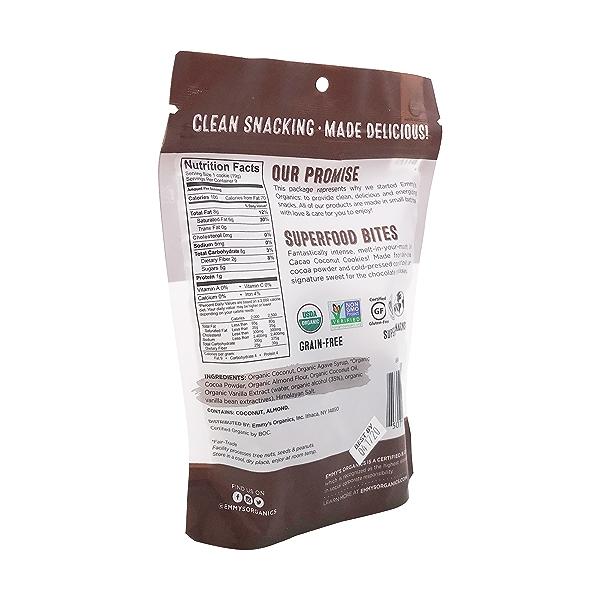 Organic Dark Cacao Macaroons, 6 oz 3
