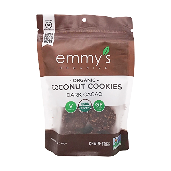 Organic Dark Cacao Macaroons, 6 oz 1