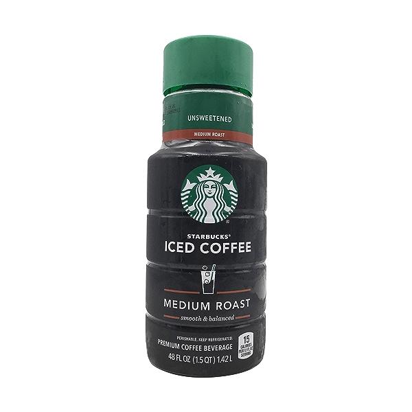 Unsweetened Medium Roast Iced Coffee, 48 fl oz 1