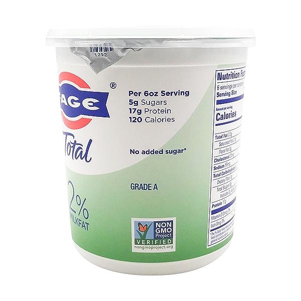 Total 2% Plain Greek Yogurt, 35.3 oz 2