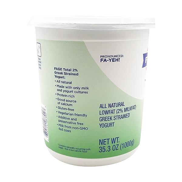 Total 2% Plain Greek Yogurt, 35.3 oz 4
