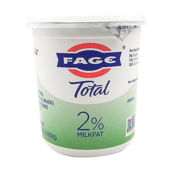 Total 2% Plain Greek Yogurt, 35.3 oz 1