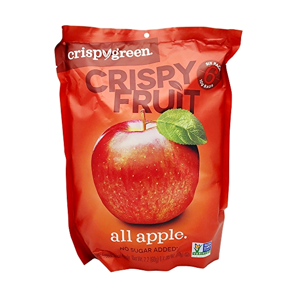 Apple Crispy Fruit (6 Pk), 2.2 oz 1
