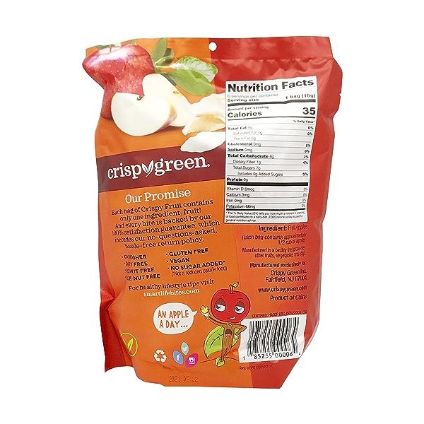Apple Crispy Fruit (6 Pk), 2.2 oz 2