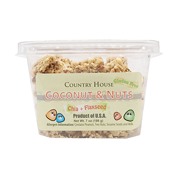 Coconut And Nuts, 7 oz 1