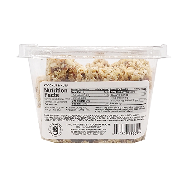 Coconut And Nuts, 7 oz 2