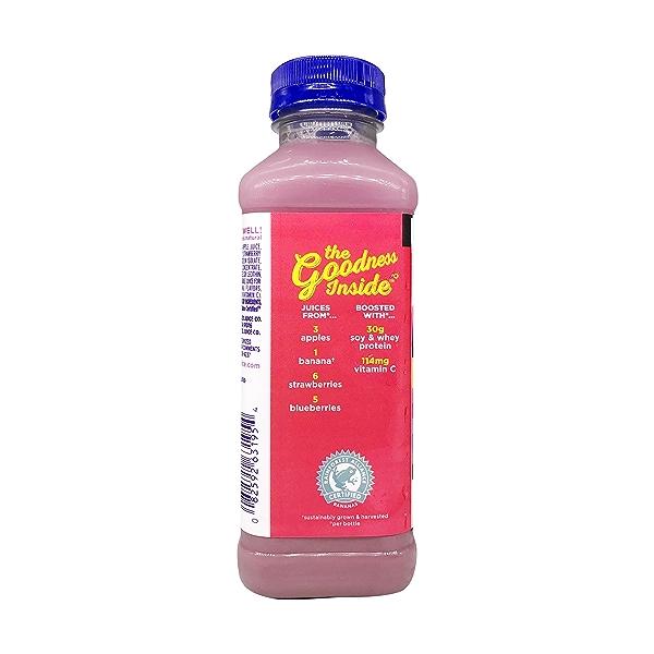 Naked Double Berry Protein Smoothie, 15.2 fl oz 3