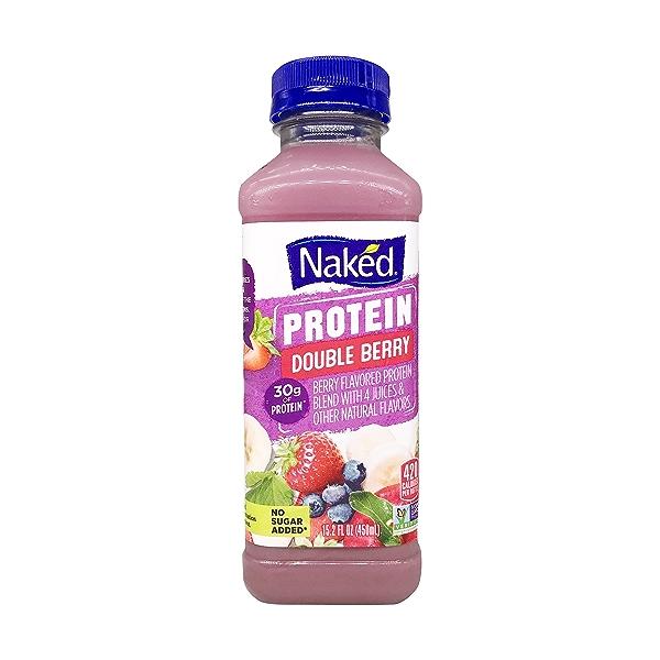 Naked Double Berry Protein Smoothie, 15.2 fl oz 1