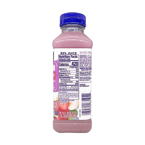 Naked Double Berry Protein Smoothie, 15.2 fl oz 2