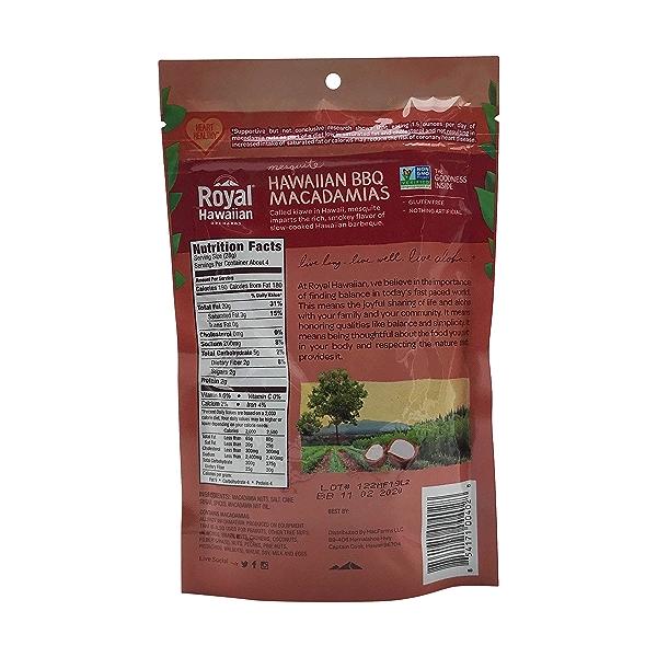 Macadamia Nuts Hawaiian Bbq, 4 oz 2