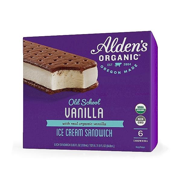 Old School Vanilla Ice Cream Sandwich, 21.9 fl oz 1