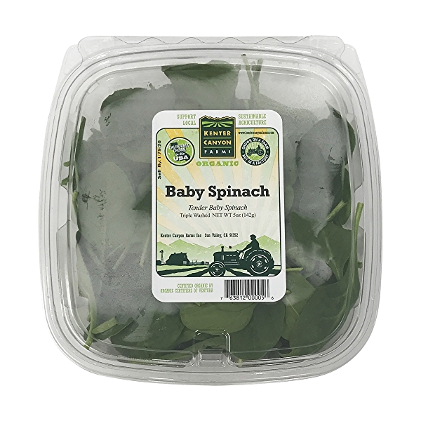 Baby Spinach 1