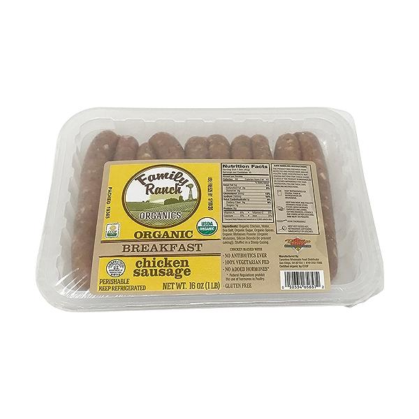 Organic Chicken Breakfast Sausage 1