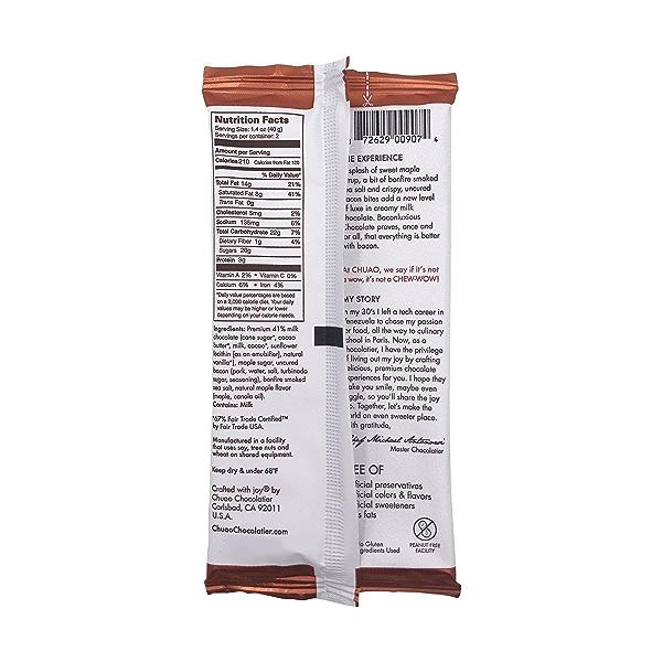Baconluxious Chocolate, 2.8 oz 3