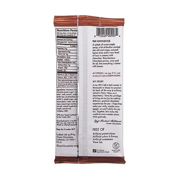 Baconluxious Chocolate, 2.8 oz 2
