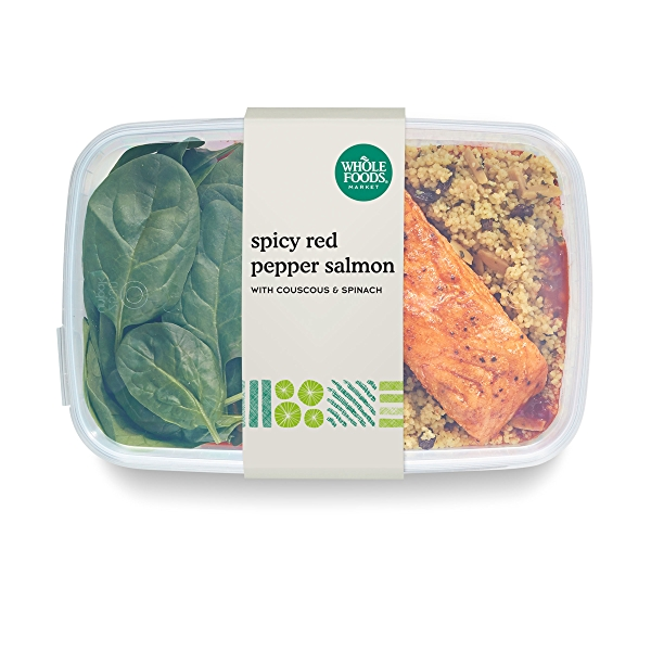 Spicy Red Pepper Salmon, 12 oz 1