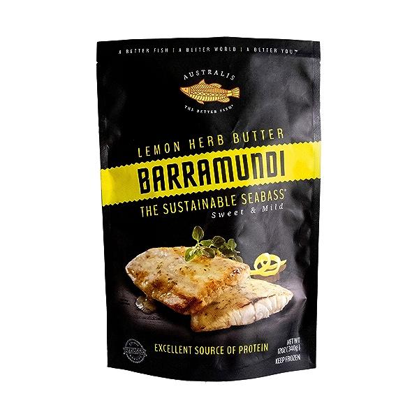 Lemon Herb Butter Barramundi 1