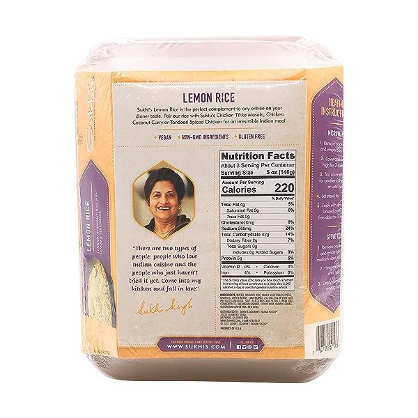 Lemon Rice, 16 oz 2