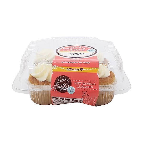 Cupcake, Gluten Free Very Vanilla 4 Ct Nat Cs, 8 oz 3