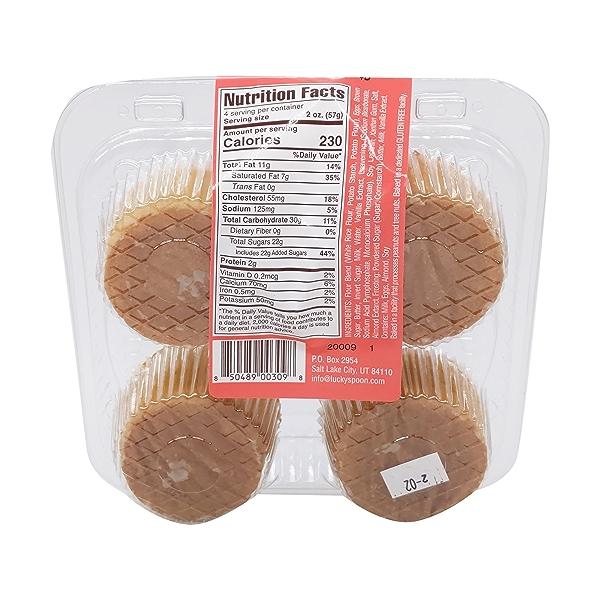 Cupcake, Gluten Free Very Vanilla 4 Ct Nat Cs, 8 oz 2