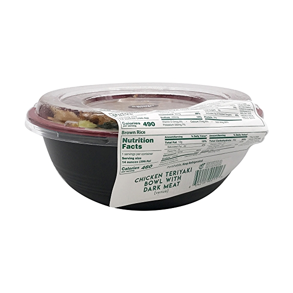 Chicken Teriyaki Bowl With Dark Meat, 14 oz 4