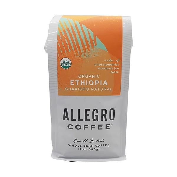 Ethiopia Whole Bean Coffee, 12 oz 1
