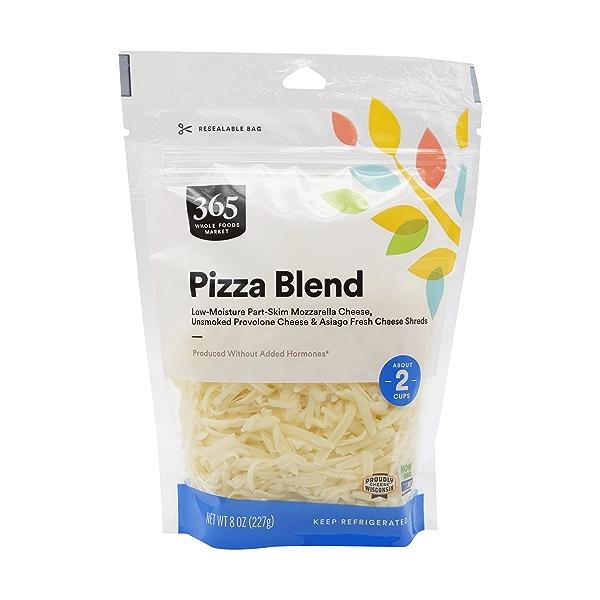 Shredded Pizza Blend, 8 oz 1