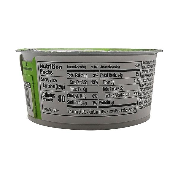 Original Coconut Yogurt, 4.4 oz 2