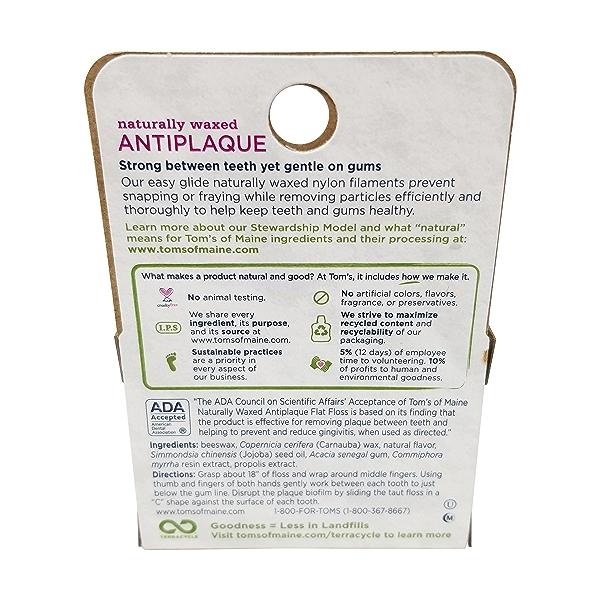 Anti Plaque Sprearmint Flat Floss 32yd 2