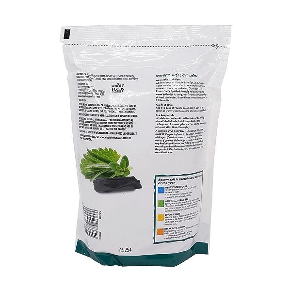 Muscle Soak Epsom Salt, 48 oz 2
