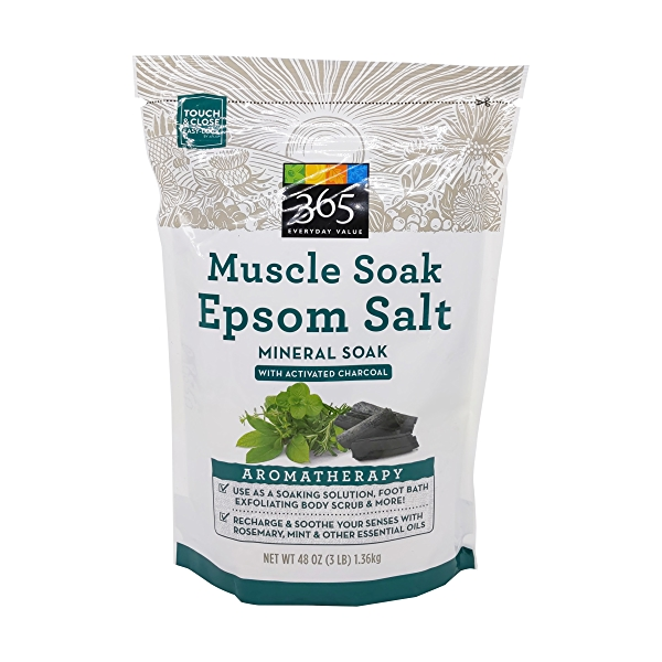 Muscle Soak Epsom Salt, 48 oz 1