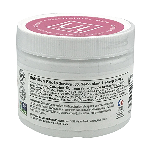 Pink Lemonade Electrolytes Tub, 3.2 oz 2
