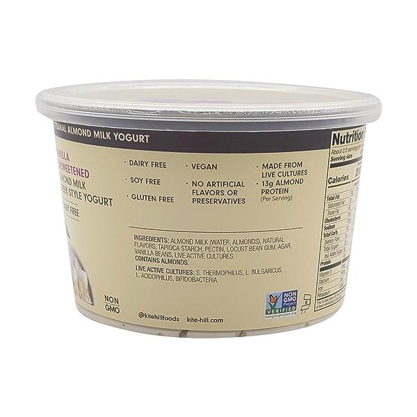 Unsweetened Vanilla Yogurt, 16 oz 3