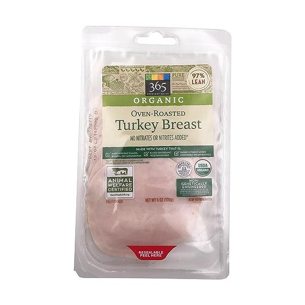 Organic Oven Roasted Turkey Breast 1