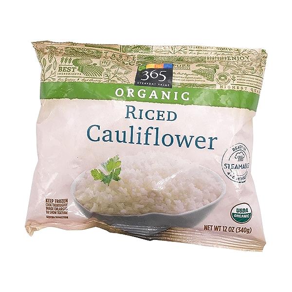 Organic Riced Cauliflower, 12 oz 1