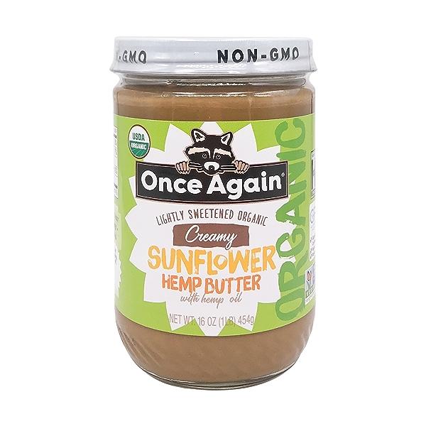 Organic Sunflower Hemp Butter 1