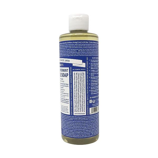 Peppermint Soap, 16 fl oz 2